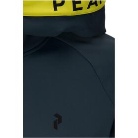 Peak Performance Rider Zip Hood Herr blaze lime